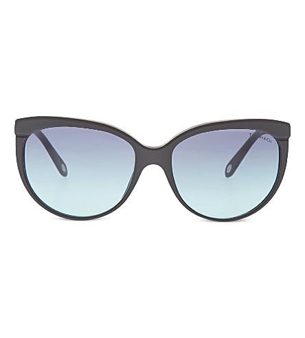 TIFFANY & CO TF4097 cat eye sunglasses (Black