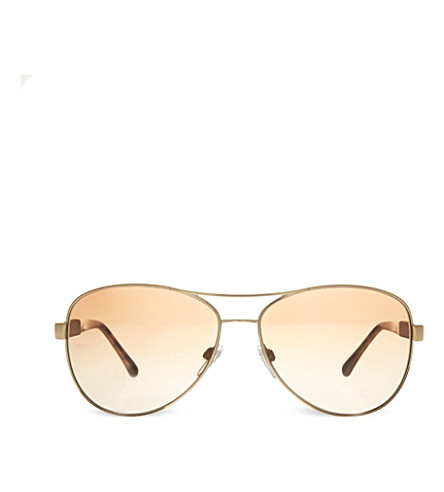 BURBERRY B3080 pilot sunglasses (Light+gold
