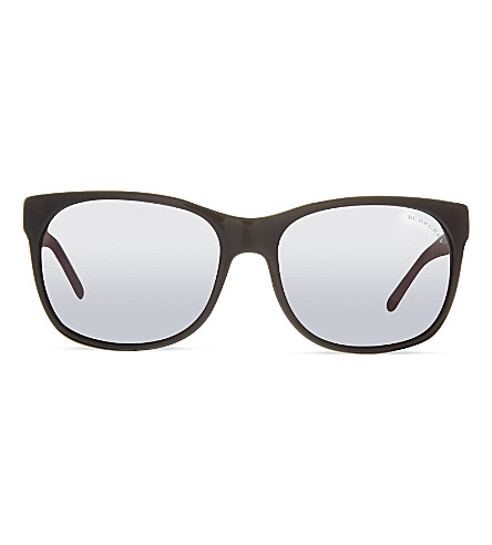 BURBERRY B4183 square sunglasses (Black