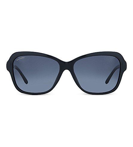 BVLGARI 8142 Butterfly sunglasses (Black