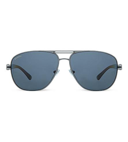 BVLGARI BV5033 pilot sunglasses (Matte+gunmetal