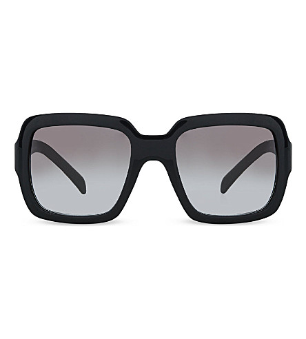 PRADA PR07R Square sunglasses (Black