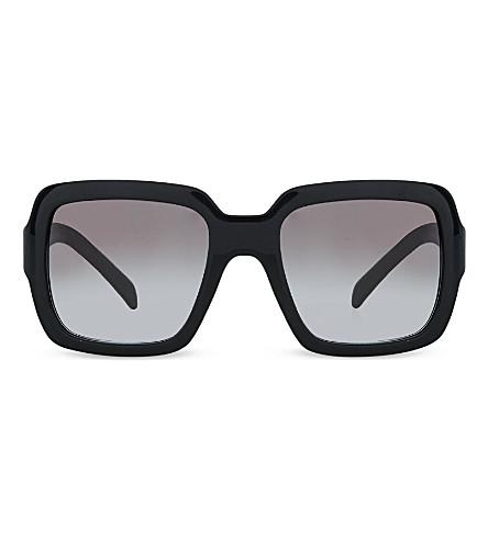 PRADA PR07R Square sunglasses (Black