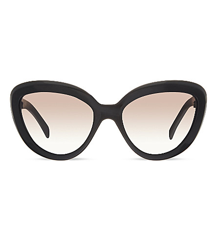 PRADA Pr08rs Cat-eye sunglasses (Black