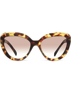 PRADA Pr08rs Medium cat-eye sunglasses