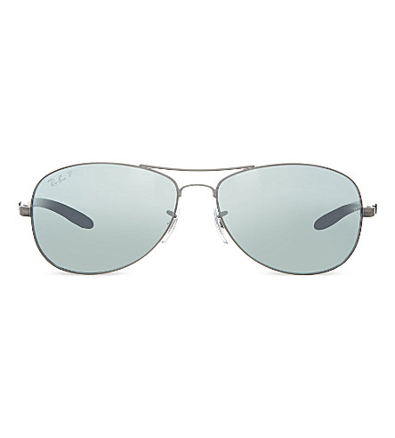 RAY-BAN RB8301 Tech aviator sunglasses (004/k6grey