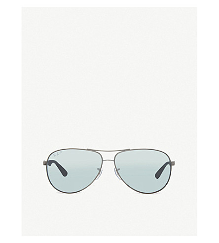 RAY-BAN RB8313 Tech aviator sunglasses (004/k6grey