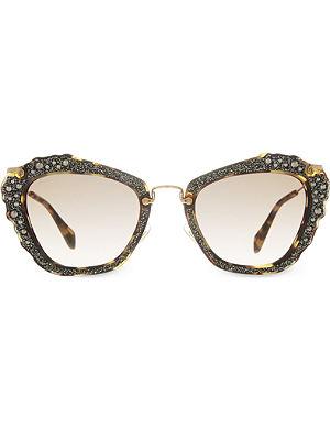 MIU MIU MU04Q cat eye sunglasses