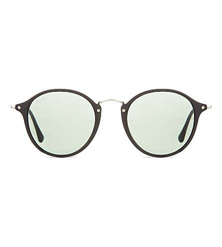 RAY-BAN RB2447 round sunglasses (901black