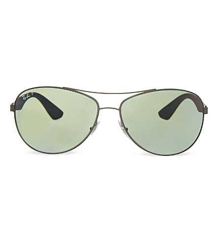 RAY-BAN RB3526 aviator sunglasses (029/9agrey