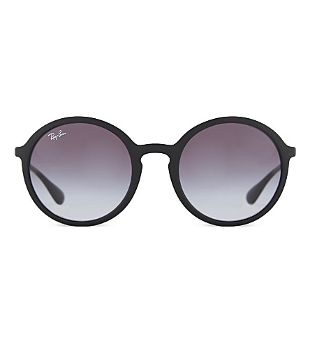 RAY-BAN RB4222 round sunglasses (622/8gblack