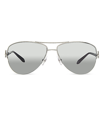 TIFFANY & CO TF3046 aviator sunglasses (Silver