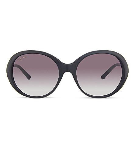 BVLGARI BV8154-B round sunglasses (501/8gblack