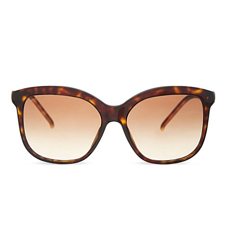 BVLGARI BBV8155 square sunglasses (504/13nbrown
