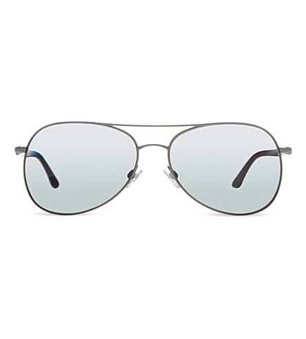 EMPORIO ARMANI AR6026 pilot sunglasses (300381grey