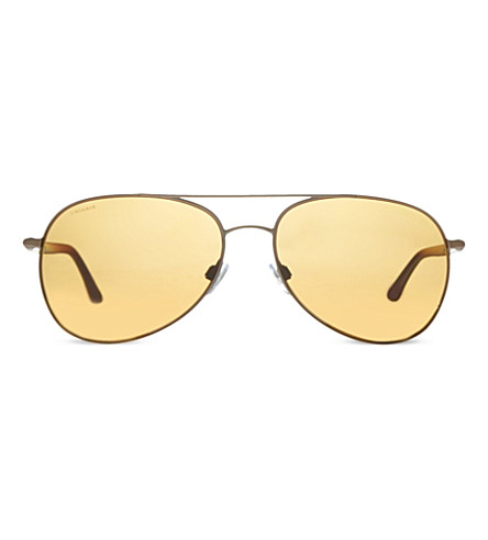 EMPORIO ARMANI AR6026 pilot sunglasses (300683bronze