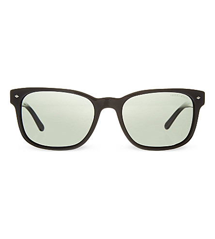 EMPORIO ARMANI AR8049 rectangular sunglasses (501758black