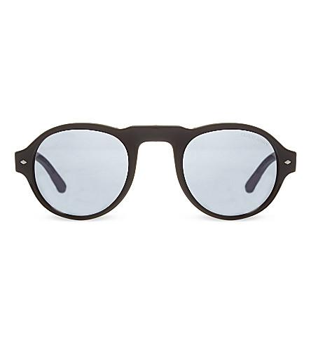 EMPORIO ARMANI AR8053 round sunglasses (5017r5black