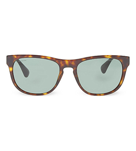PRADA SPR14R havana square sunglasses (2au3o1brown