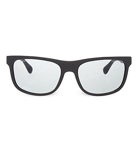 PRADA PR15R brushed square sunglasses (Tv43c2grey