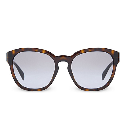 PRADA SPR17R havana square sunglasses (2au3h0brown