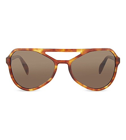 PRADA Aviator sunglasses (Light+havana