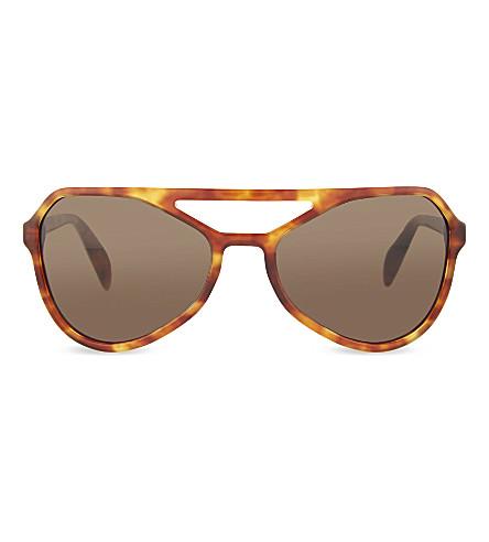 PRADA Aviator sunglasses (Light+havana