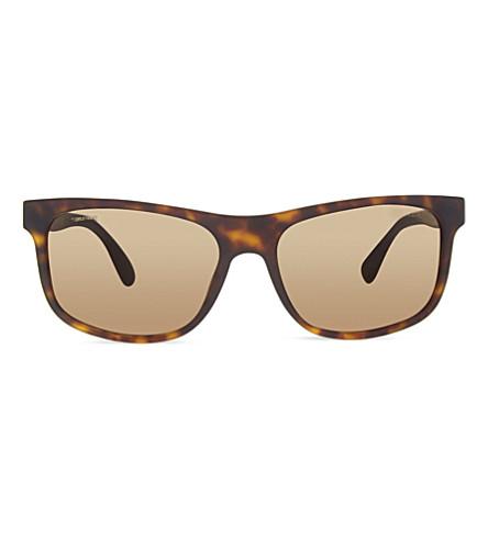 PRADA PR15R Havana matte sunglasses (Haq4j1brown