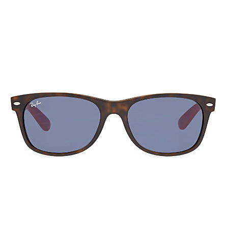 RAY-BAN RB2132 square sunglasses (Matte+havana