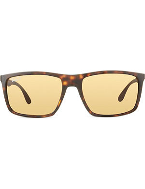 RAY-BAN RB4228 rectangular sunglasses