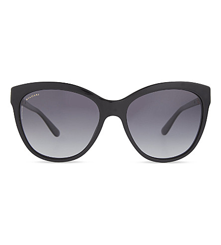 BVLGARI Bv8158 cat eye sunglasses (Black