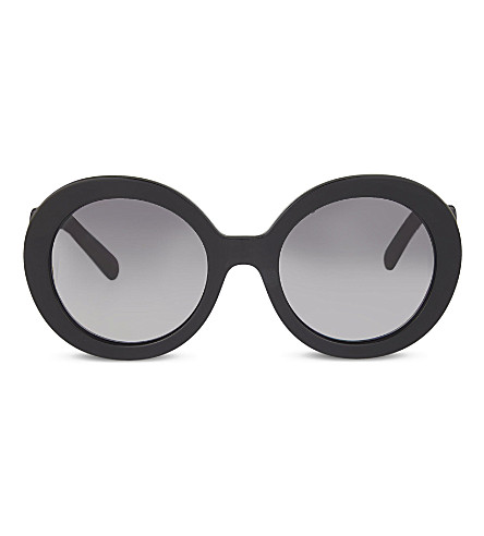 PRADA Round  sunglasses (Black