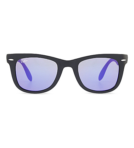RAY-BAN Square sunglasses (Matte+black