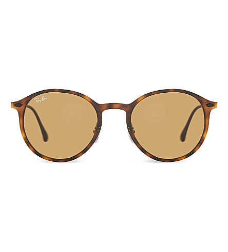 RAY-BAN RB4224 Lightray sunglasses (Matte+havana