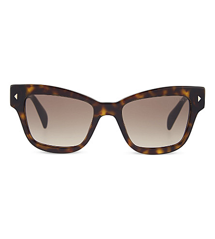 PRADA Pr29r butterfly sunglasses (Havana