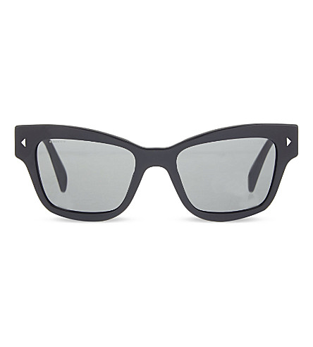 PRADA Pr29r butterfly sunglasses (Black