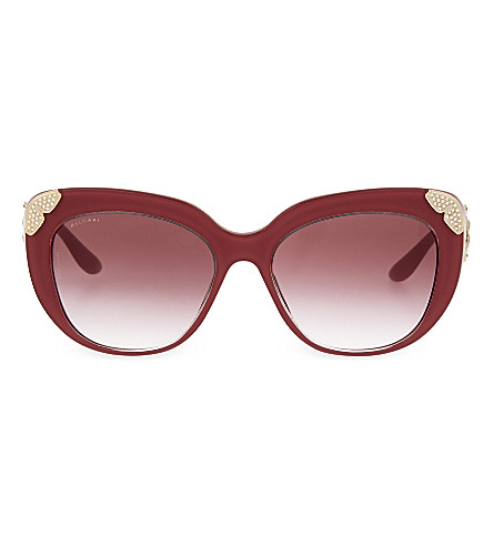 BVLGARI 8162 cat eye sunglasses (Pink