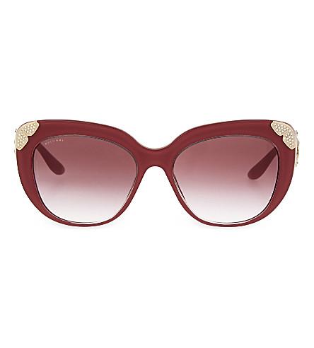 BVLGARI 8162 cat eye sunglasses (Pink