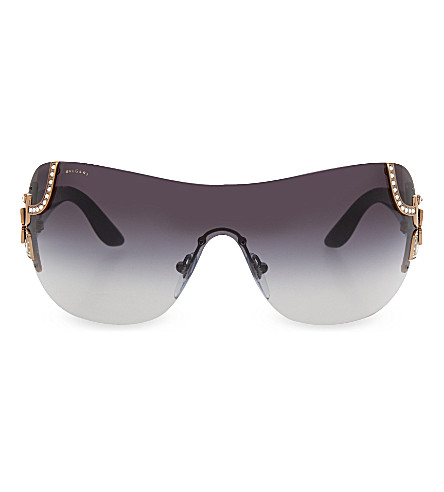 BVLGARI 6079-B rectangle sunglasses (Gold