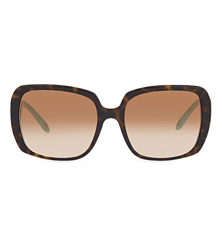 TIFFANY & CO TF4110-B Havana square sunglasses (Havana