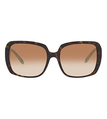 TIFFANY & CO TF4110-B Havana square sunglasses (Havana