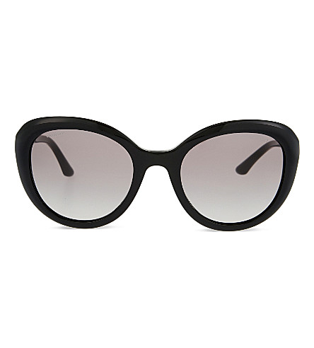GIORGIO ARMANI AR8065 cat-eye sunglasses (Black