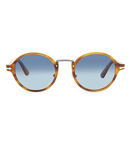 PERSOL 3129-S Havana round sunglasses (Havana