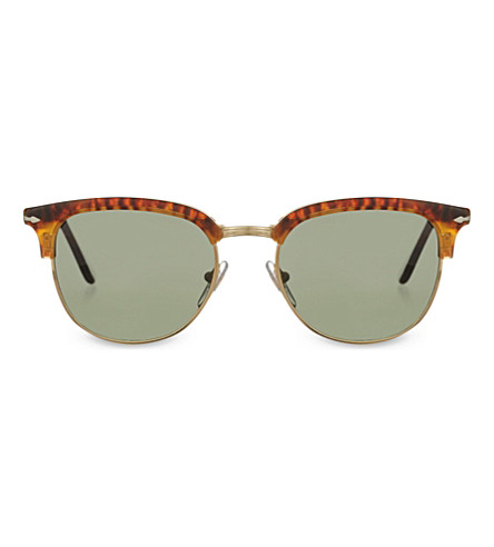 PERSOL 3132-S Fold-up Havana phantos sunglasses (Caffe'