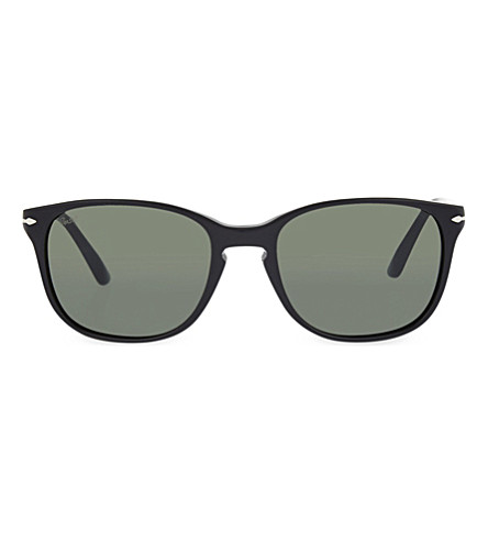 PERSOL 3133-S square sunglasses (Black