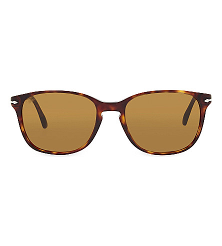 PERSOL 3133-S Havana square sunglasses (Havana