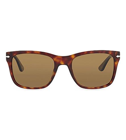 PERSOL 3135-S Havana square sunglasses (Havana