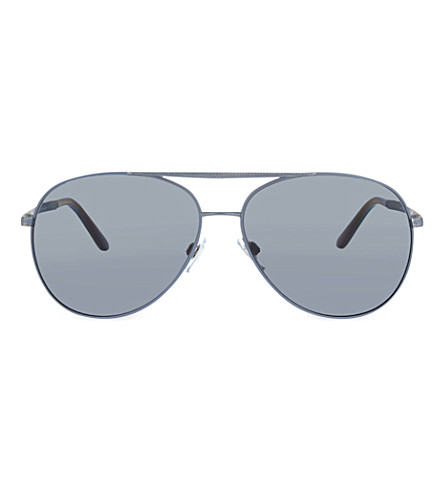 EMPORIO ARMANI AR6030 aviator sunglasses (Grey