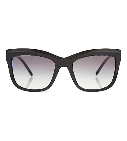 BURBERRY B4207 square sunglasses (Black