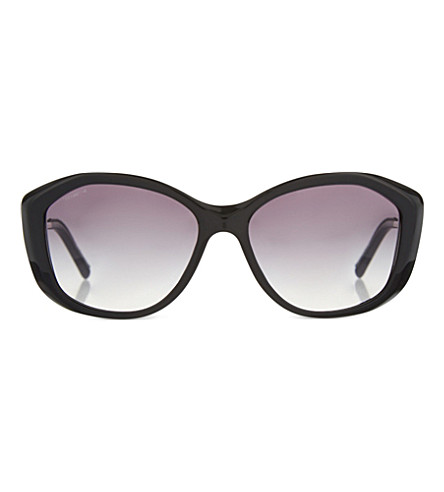 BURBERRY B4208-Q cat eye sunglasses (Black